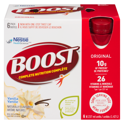 Boost 6x237ml Original Vanilla
