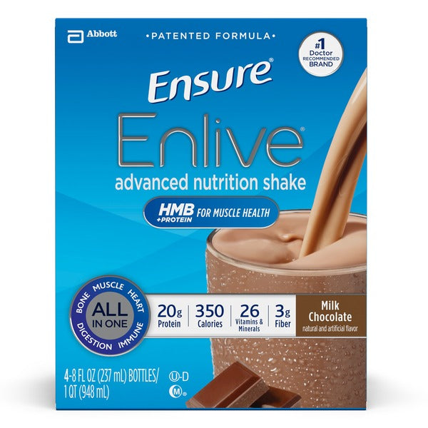 Ensure Enlive Chocolate 4x235 ml