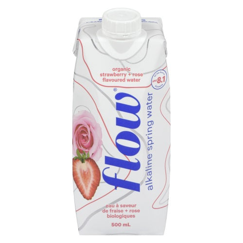 Flow 500ml Organic Strawberry