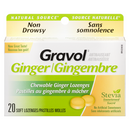 Gravol 20's Ginger Lozenges