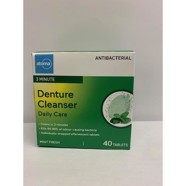 Atoma Denture 40 Tablets Daily Cleansing