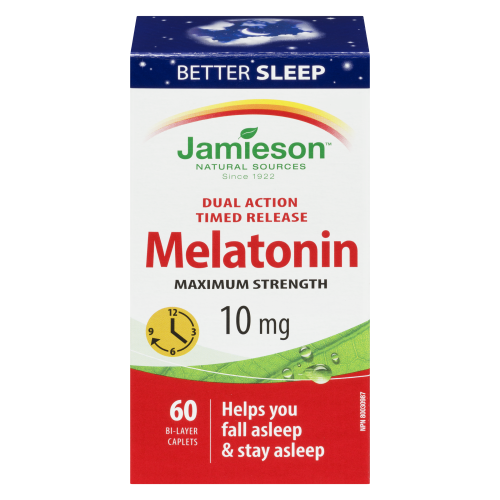 Jamieson Melatonin 10mg 60's