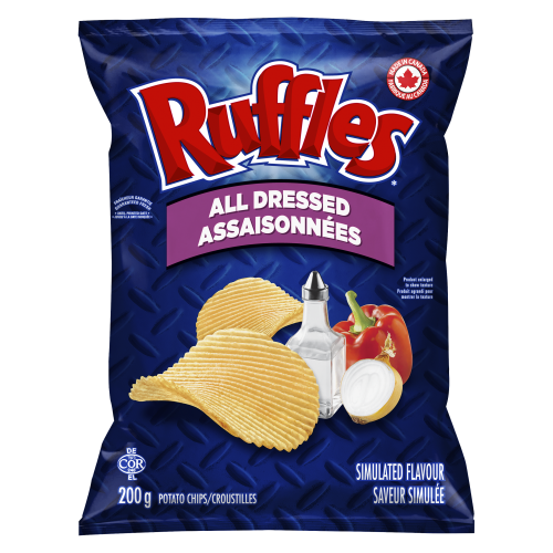 Ruffles 200g All Dressed