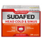 Sudafed Extra Strength 24caps Head Cold & Sinus