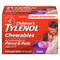 Tylenol 20 Tablets Children Grape Chewables