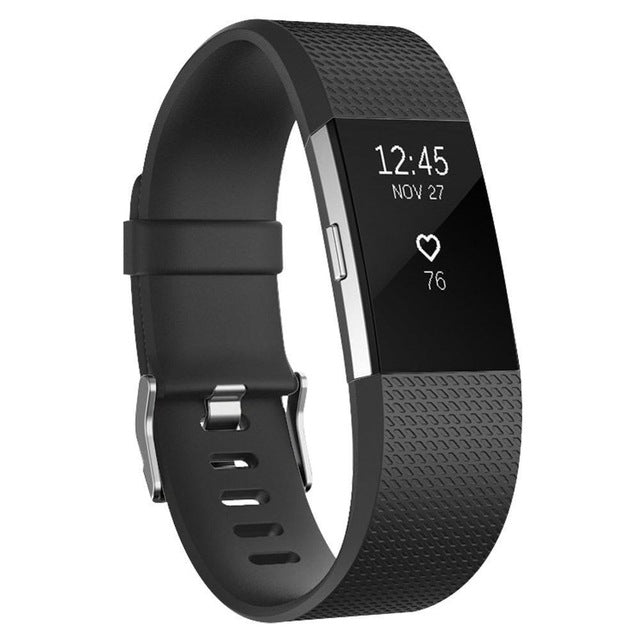 Fitbit Charge 2 Strap - Rubber Replacement Strap - Bit Straps