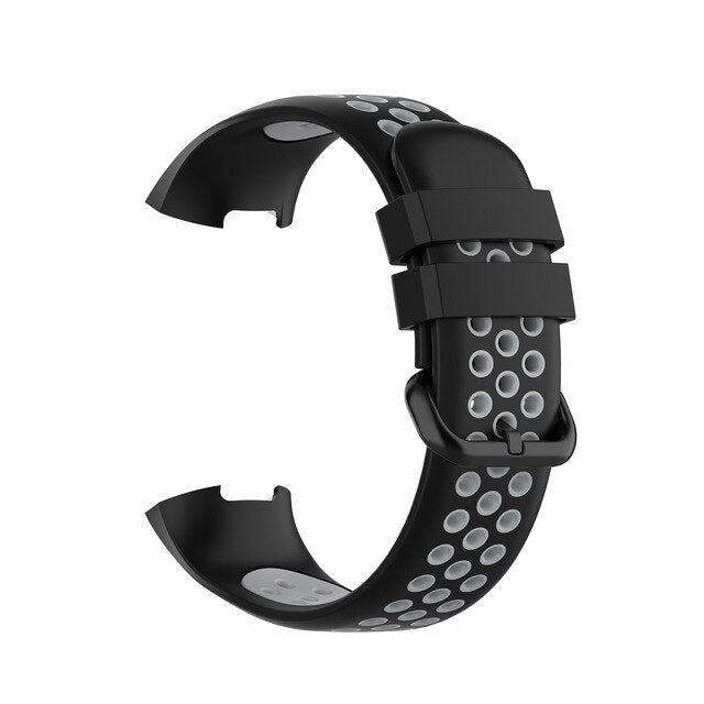 Fitbit Charge 3/Charge 4 Rubber Sports Strap - Bit Straps