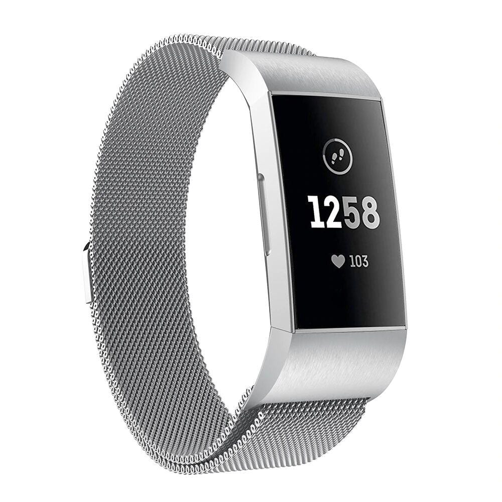 Fitbit Charge 3/Charge 4 Milanese Strap - Bit Straps