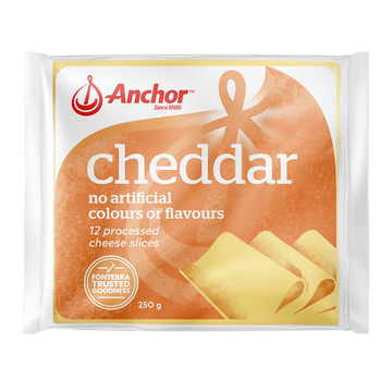 Anchor Sliced Cheese Colby 250g