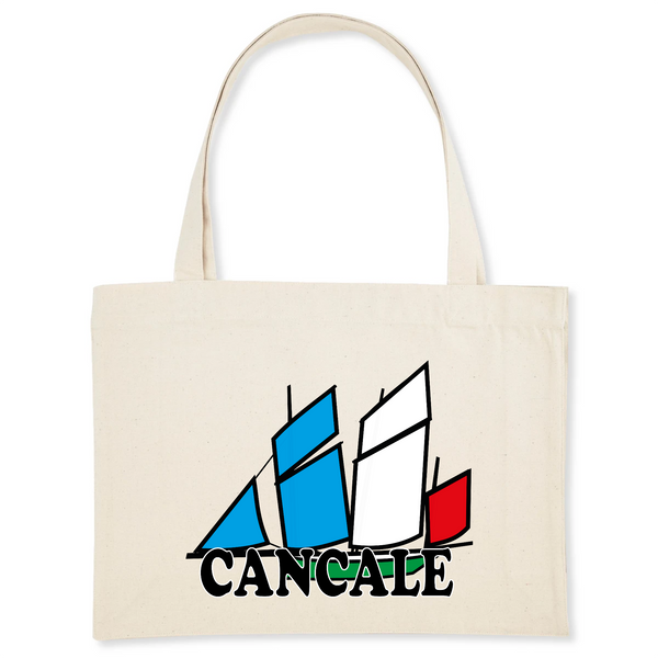 Shopping bag Bisquine Cancale en Coton Bio