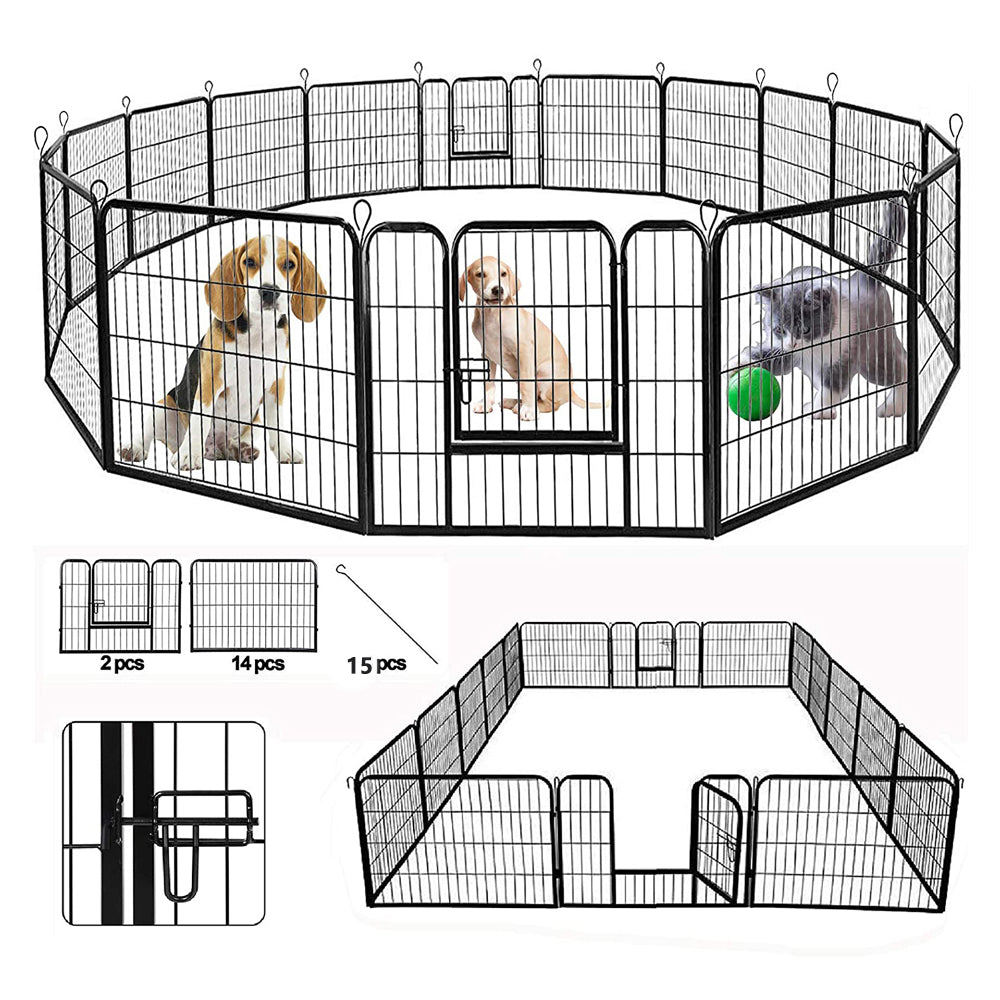 Heavy Duty Dog Pen, Metal Dog Fence