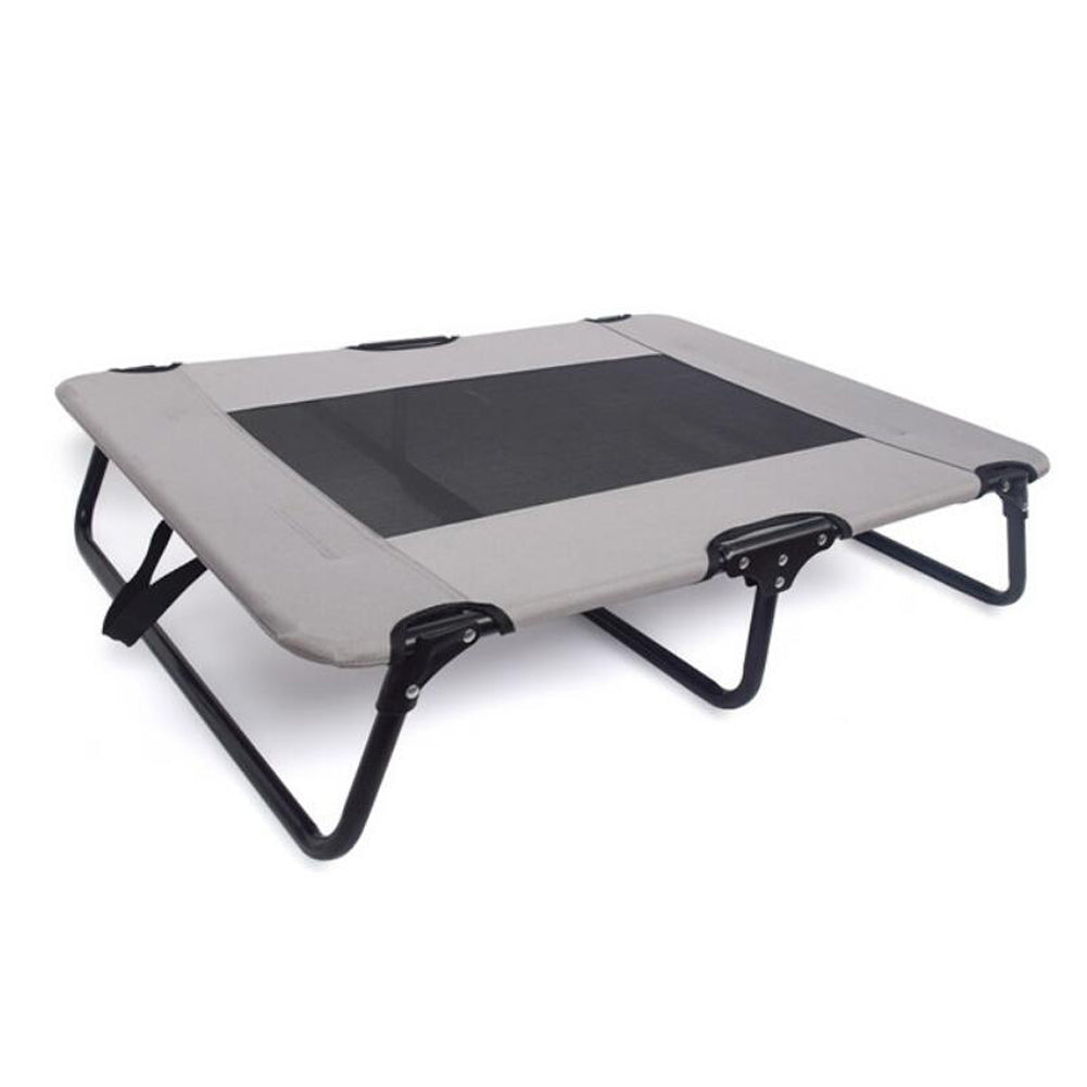 Foldable Raised Dog Bed, Cooling Pet Bed
