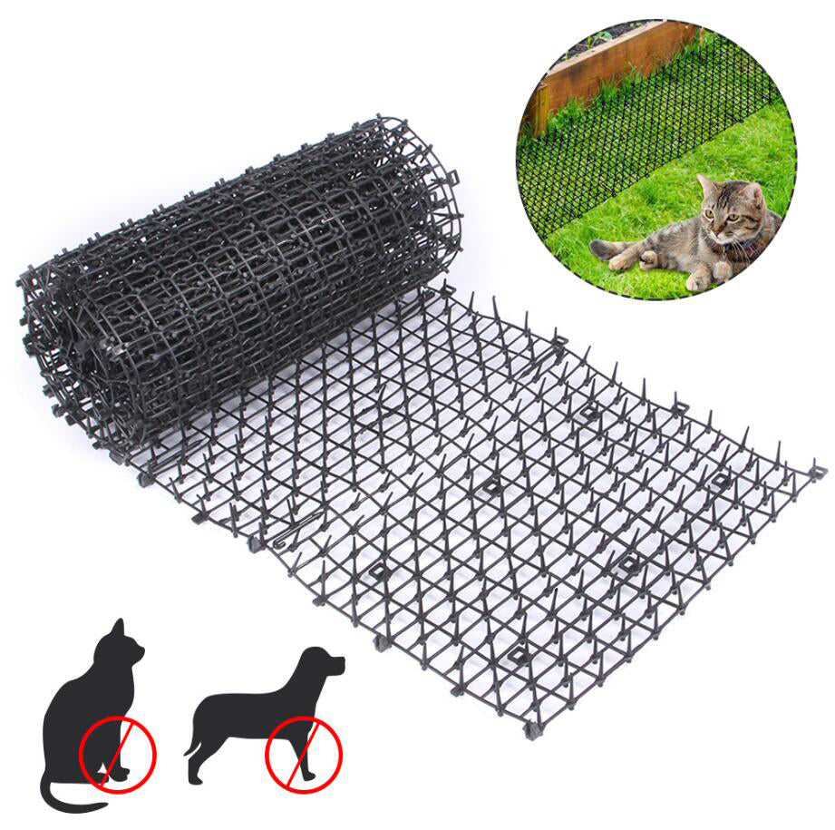 "Cat Scat Mat With Spikes Prickle Strips, 78""x11"""