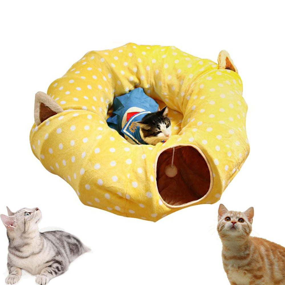 Cat Tube and Tunnel Bed