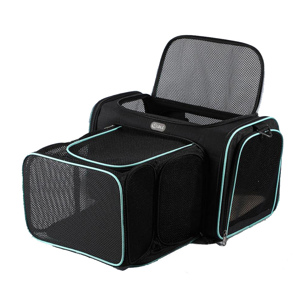 Expandable Collapsible Pet Travel Carrier Backpack, Airline Approve