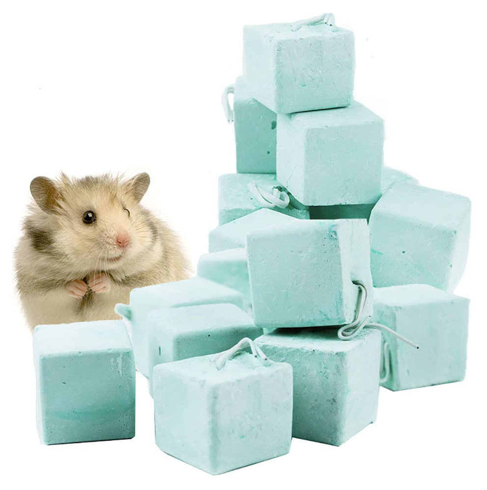 Hamster Guinea-Pig Small Animal Calcium Mineral Chew Cube, Chew Toy