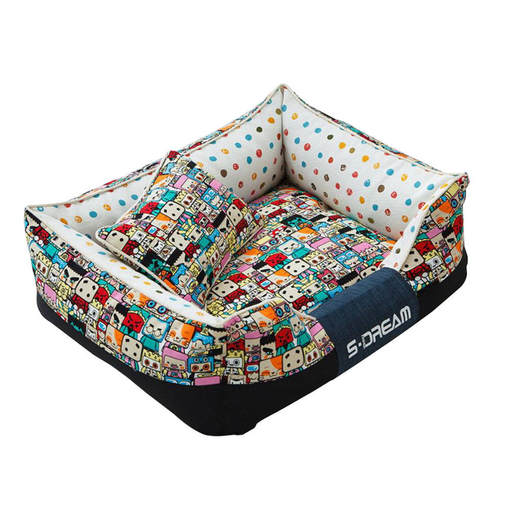 Washable Pet Dogs Bed for Autumn Winter