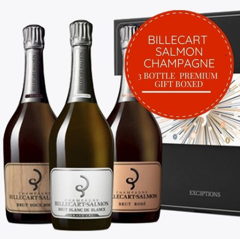 Give this beautiful gift box of premium Billecart Salmon champagne. We're delivering same-day 7 days a week. This Champagne gift is one of Singapore's best gifts for the person who has everything! Buy this gift-boxed champagne for friends or colleagues from Pop Up Wine - Singapore's leading premium online wine store. Open and delivering wine and champagne 7 days a week.