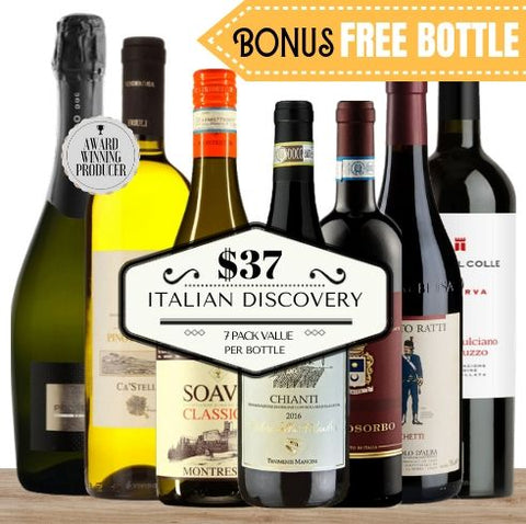 6 of Italy's best selling wine regions in one super pack. Buy this 6 pack value wine from Pop Up Wine, Singapore's favourite online wine store. Contactless wine delivery today to your door.