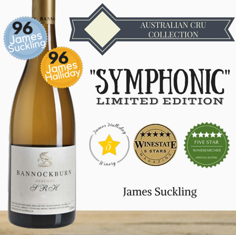 Bannockburn Chardonnay ~ premium white wine ~ from Pop Up Wine. Same day delivery