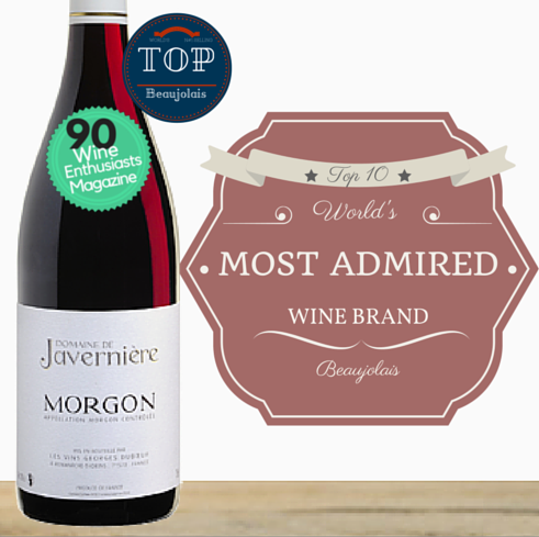 World's N #1 selling brand of Beaujolais. Domaine Javerniere Morgon 2014. Pop Up Wine ~ Singapore low price online wine store. Same day delivery. Free delivery for 2 doz.