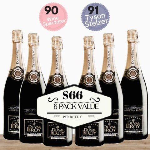 6 Pack french champagne available at great value from Pop Up Wine in Singapore.Serve in weddings and party celebrations. 24 hour delivery.