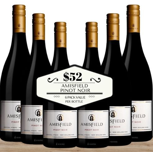 Buy this Amisfield Pinot Noir 2018 from Central Otago in New Zealand by the box. Buy this 6 pack of best value wine today from Pop Up Wine, Singapore's favourite online wine store. Order online and get it delivered today to your door or office. Same-day, 7 day a week, contactless delivery. Free wine delivery for any 24 wines. Buy wine in boxes for the best value wine in Singapore. Best value way to buy wine for events, celebrations and functions.