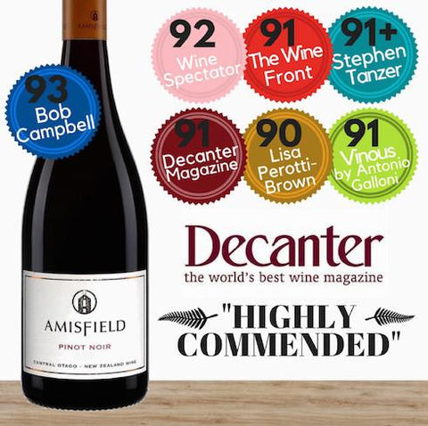 Amisfield Pinot Noir 2014. Premium red wine from Central Otago,NZ. Buy great value wine in Singapore from online Pop Up Wine. Same day delivery, free delivery for 2 dozen.