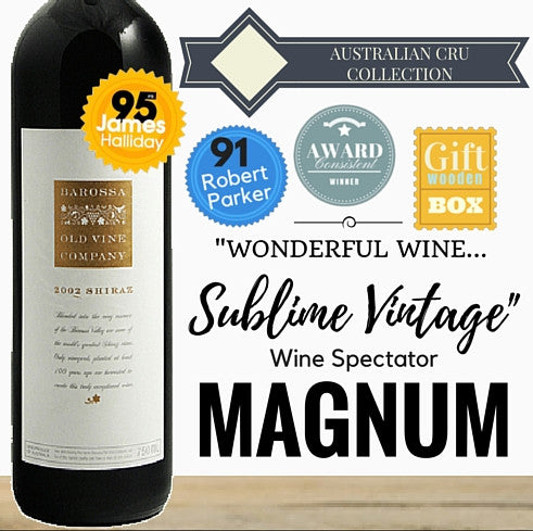 Magnum of Award winning Barossa Shiraz. Premium wine by Langmeil . Outstanding aged red wine. Pop Up Wine Singapore's low price store. Same day delivery. Free delivery for any 2 dozen.