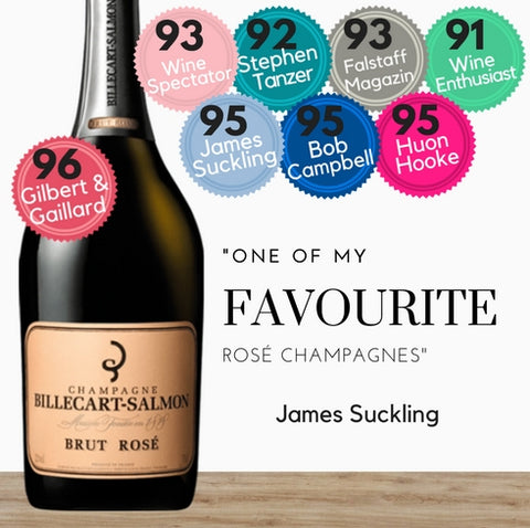 Billecart Salmon French Rose Champagne. Best value available from Pop Up Wine in Singapore. Same day delivery daily.