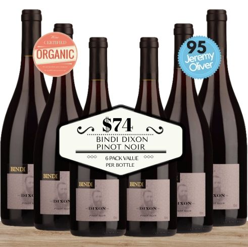 Buy today this 6 pack Australian Bindi Dixon Pinot Noir 2015 from Macedon Ranges. From Pop Up Wine, Singapore's favourite online wine store. Same-day and contactless wine delivery today to your home. Delivered free when you buy 24 or more of any wines.