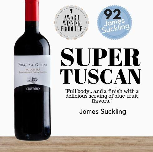 Buy this prestigious Italian Super Tuscan Italian red wine. Made from Cabernet Sauvignon Merlot Shiraz. Buy online from Pop Up Wine. Singapore's low price store.