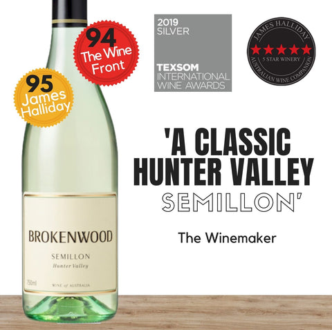 Brokenwood Semillon 2019 ~ Hunter Valley, NSW, Australia