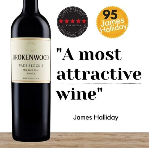 Brokenwood Wade Block 2 Vineyard Shiraz 2016 ~ McLaren Vale, Australia