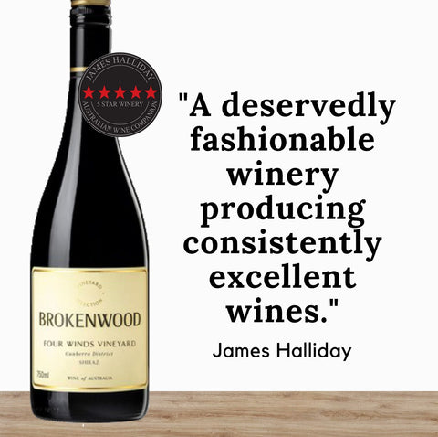 Brokenwood Four Winds Canberra Shiraz 2014 ~ Hunter Valley, Australia