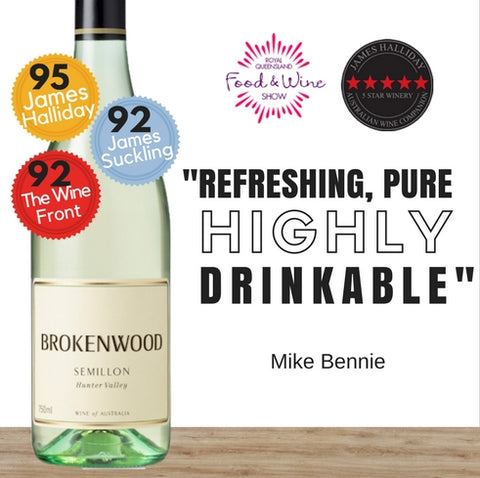 Australia's 2018 Semillon. Brokenwood produced white wine. Best value online from Pop Up Wine Singapore. We deliver fast daily.