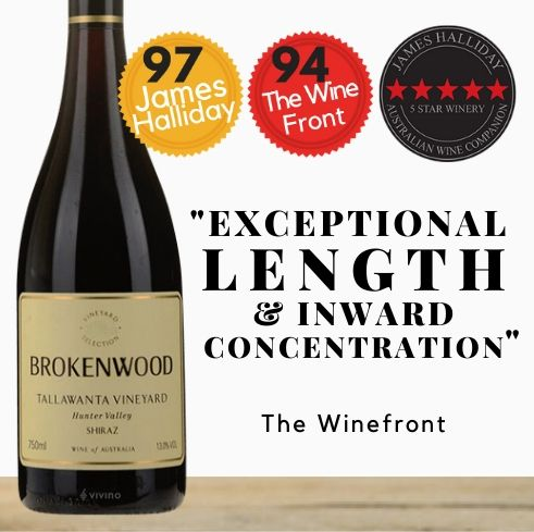 Brokenwood Tallawanta Vineyard 2015 , Hunter Valley, Australia