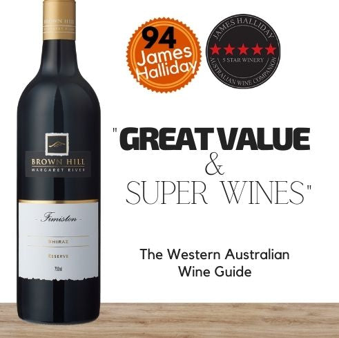 Premium red wine from Australia. Brown Hill Fimiston Reserve Shiraz. Available online from Pop Up Wine, Singapores favourite online wine retailer. Same day contactless delivery & free for over 2 dozen bottles.