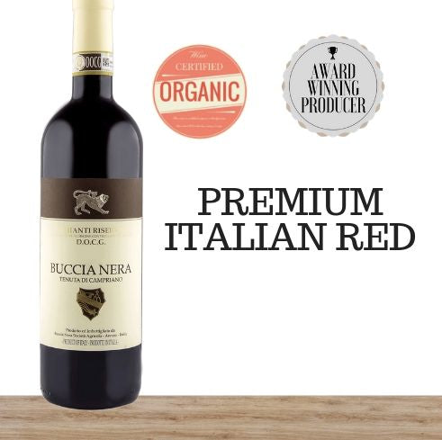 Premium Italian Sangiovese from the Chianti region. Multiple award winning organic winery. Available online from Pop Up Wine, Singapores favourite online wine retailer.