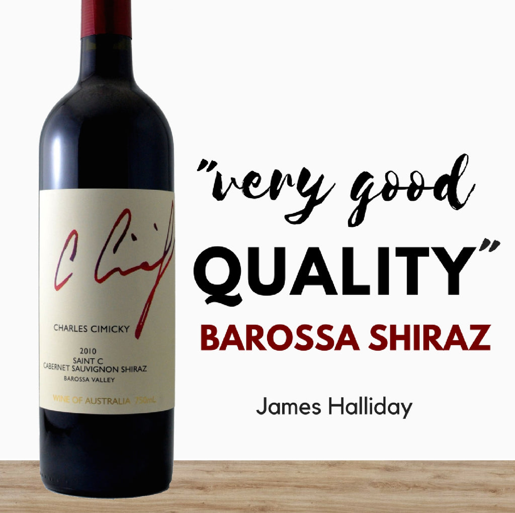 Australia's Shiraz red wine by Charles Cimicky.  Buy quality cheap wines online from Pop Up Wine Singapore. Same day delivery guaranteed.