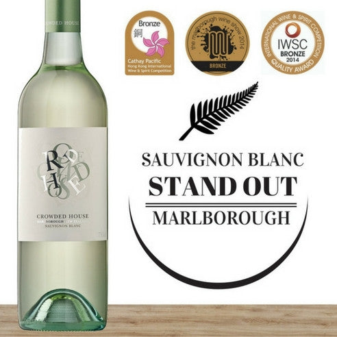 Crowded House Sauvignon Blanc 2014. New Zealand white wine. Great value wines available online ~ Pop Up Wine Singapore.