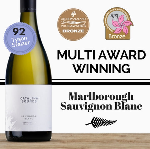 Catalina Sounds Sauvignon Blanc 2016 ~ Marlborough, New Zealand