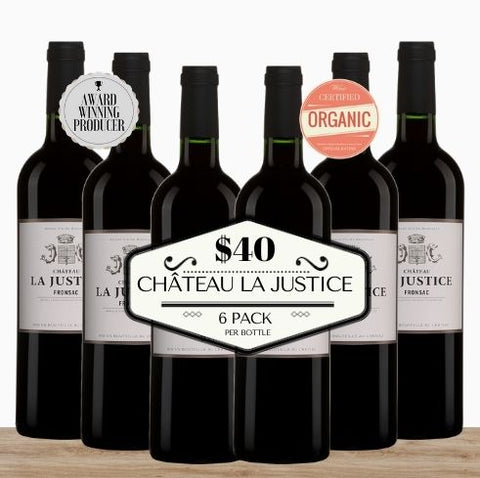Super Value - 6 pack of Bordeaux's Château La Justice 2015. Buy the wine now from Pop Up Wine, Singapore's favourite online wine store. Wine delivery today to your door. We are the only same-day, 7 day a week wine store to offer contactless wine delivery. Free wine delivery for any 24 wines or more. Buy by the carton and box for events and get the lowest priced wine in Singapore. Buy bulk wine for parties, events, weddings, openings, launches, family reunions, Chistmas, Chinese New Year and work events.
