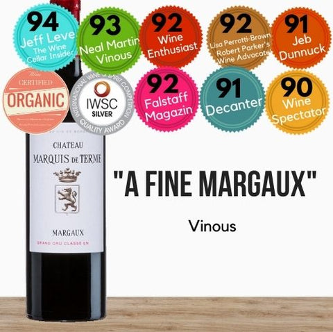 Best selling Bordeaux - Chateau Marquis de Terme, Margaux. Buy today from Pop Up Wine. Wine delivery Singapore wide.