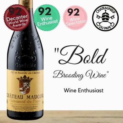 Château Maucoil Châteauneuf-du-Pape Red 2015 from  Southern Rhône, France