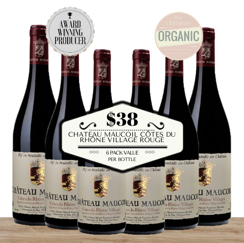 Buy this 6 pack of Chateau Maucoil Côtes du Rhône Village Rouge from Pop Up Wine, Singapore's favourite online wine store. Buy in bulk and save. The perfect box of champagne for events, parties, weddings, and gifts. Same-day wine and champagne delivery today to your door.