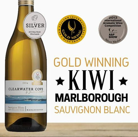 "Yealands ""Clearwater Cove"" Sauvignon Blanc 2015 ~ Marlborough, New Zealand"