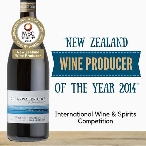 "Yea lands ""Clearwater Cove"" Pinot Noir 2015. Elegant New Zealand Pinot Noir available in Singapore from Pop Up Wine. Free Wine Delivery on orders of 2 dozen"