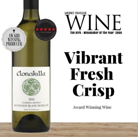 Australia's Sauvignon Blanc Semillion by Clonakilla. Buy affordable white wines from Pop Up Wine in Singapore. Get your orders delivered today.