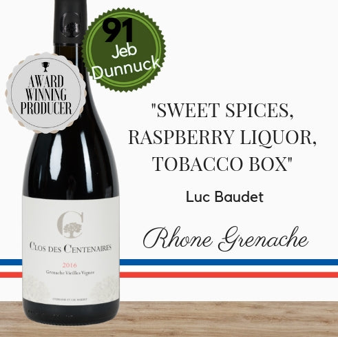 Clos des Centenaires Grenache award-winning French wine brought to you by Pop Up Wine, your best online wine store in Singapore,  Buy online now.